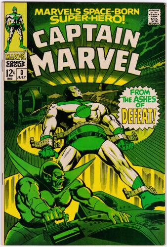 Captain Marvel # 3 (1968) NM