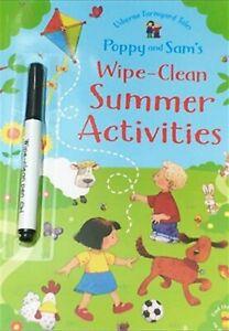 Children's books Usborne wipe and clean books (Brand new)