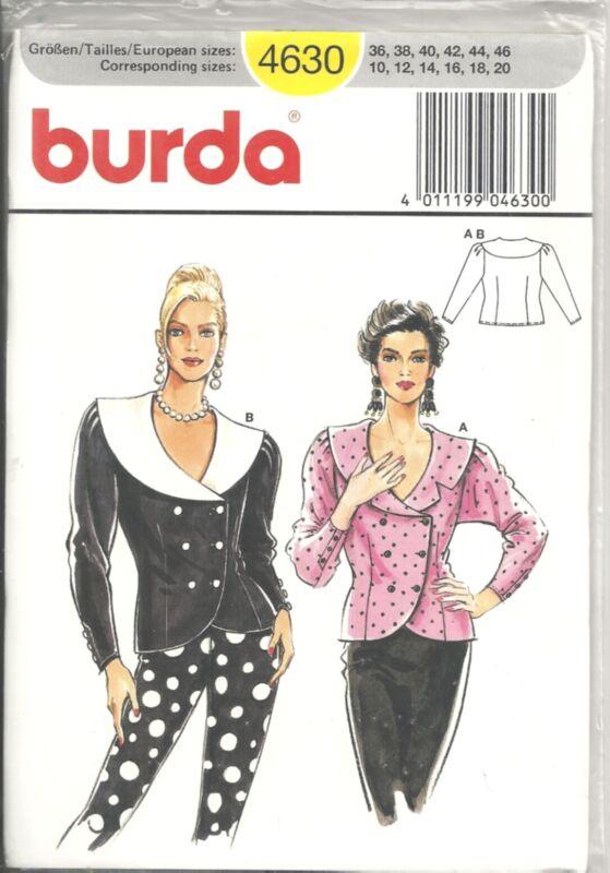 BURDA 4630 MISSES