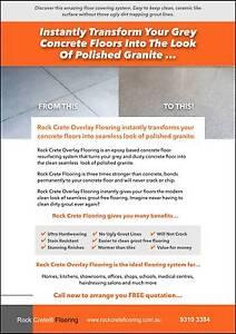 Earn Up To $3,000 PW. Rock Crete Epoxy Flooring Geraldton Geraldton City Preview