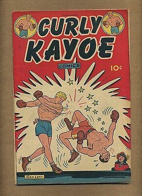 Curly Kayoe Comics #1 (VG-) United Features 1946 Sam Leff Fritzi Ritz (c#11224)