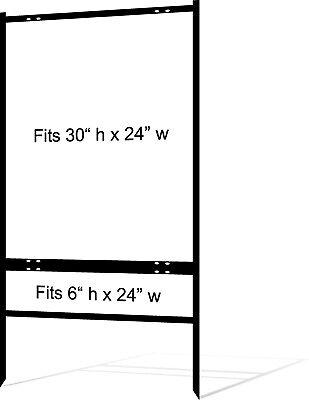 5-pack Real Estate Yard Sign Metal Frames - 30 X 24 - Free Shipping