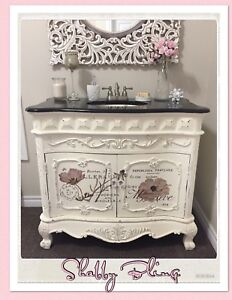 FRENCH PROVINCIAL SINK VANITY