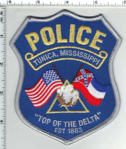 Tunica Police (Mississippi) Shoulder Patch from the 1980