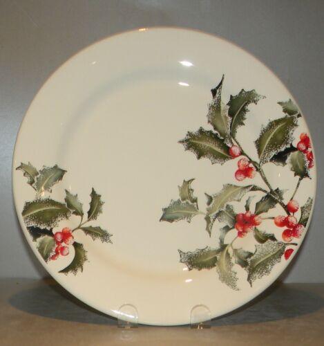NEW Dinner Plate  Holly  Pattern  From  GIEN