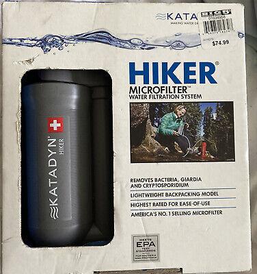 Katadyn Hiker Water Filter: 750 Liters