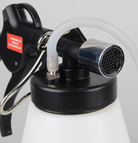 1l brake clutch bleeder bleeding vacuum pump kit pneumatic fluid bottle ebay. Black Bedroom Furniture Sets. Home Design Ideas