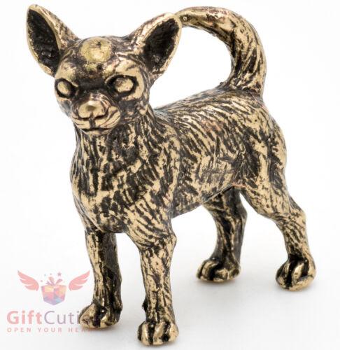Bronze Figurine of Chihuahua dog