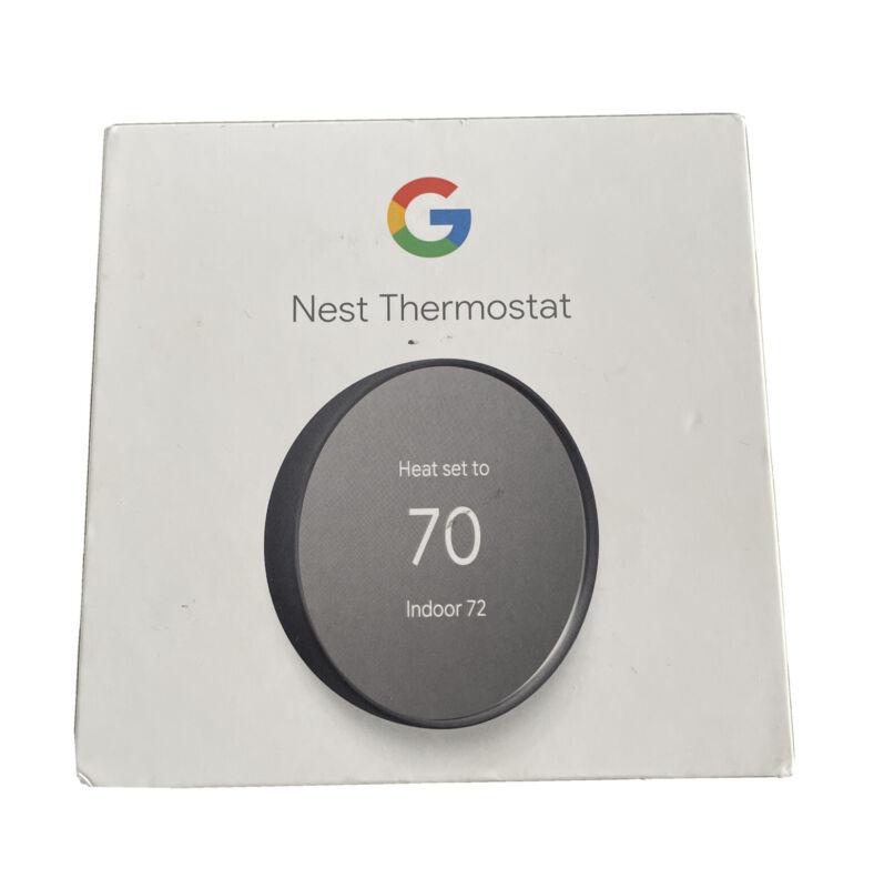 *GOOGLE* NEST Smart Thermostat Charcoal G4CVZ