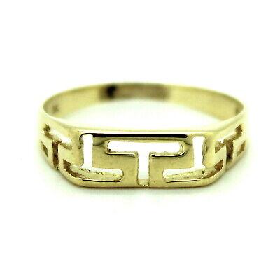 Griechische Muster (Ring griechische Muster 585er 14kt Gelbgold)
