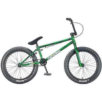 Mafiabike Kush2 Complete BMX Bike - Green Splatter