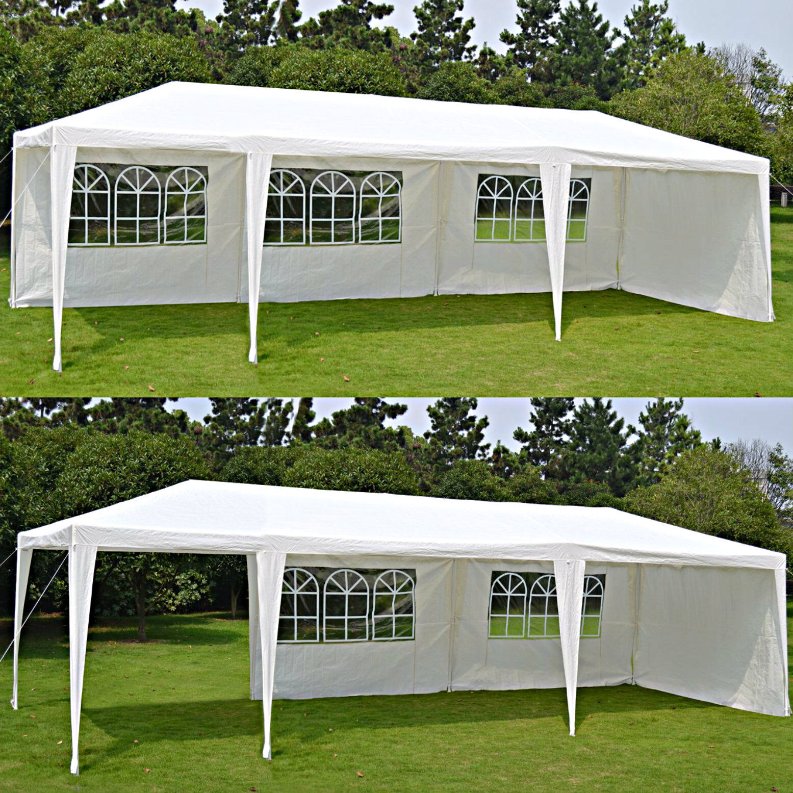Temporary Back Yard Shelters : Outdoor party canopy tent wedding gazebo pavilion x
