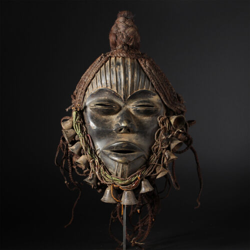 11344 Fine Dan Bronze Mask Elfenbeinkuste