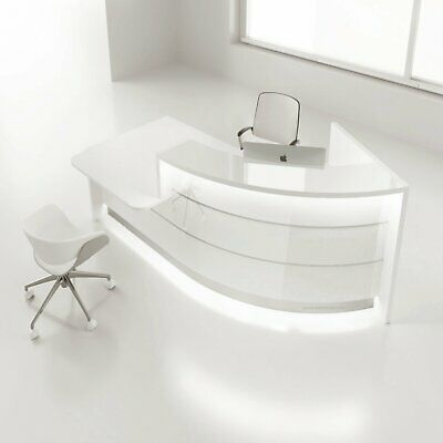 Valde Lav841l-lav851l 89 J Shape Reception Desk With Counter Top