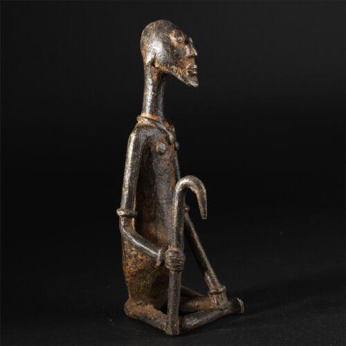 11484 Dogon Bronze Figure Mali Lost Form