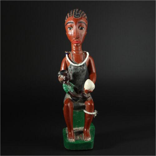 11761 Baule Ancestral Figure Maternity Ivory Coast