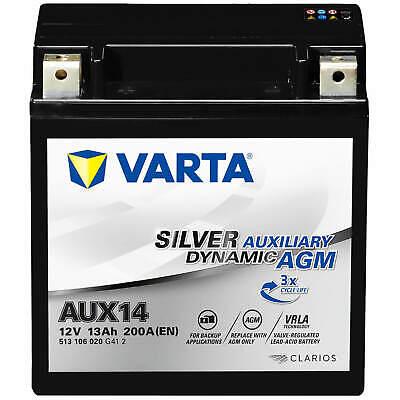 VARTA AUX14 Silver Dynamic Auxiliary 12V 13Ah AGM BackUp Batterie A2115410001