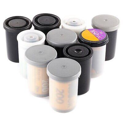 10x Rolls 35mm Colour Film Kodak Fuji for Canon Minolta Contax Leica Nikon Lomo
