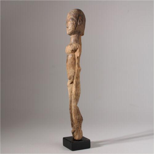 11122 Old Lobi Bateba Phuwe Altar Figure Wooden Base Inclusive