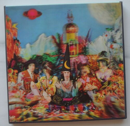 Rolling Stones Their Satanic Majesties Request Reel to Reel Lenticular Cover