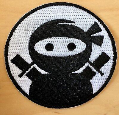 Ninja Aufbügler / Aufnäher iron-on patch Kinder Bügelbild Applikation Kampfsport