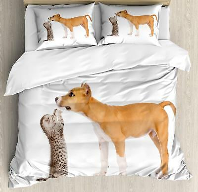 Pitbull Duvet Cover Set Twin Queen King Sizes with Pillow Sh