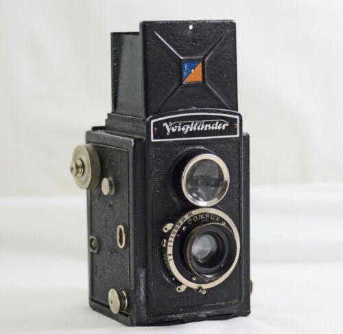 VINTAGE VOIGTLANDER BRILLANT TLR CAMERA 1932
