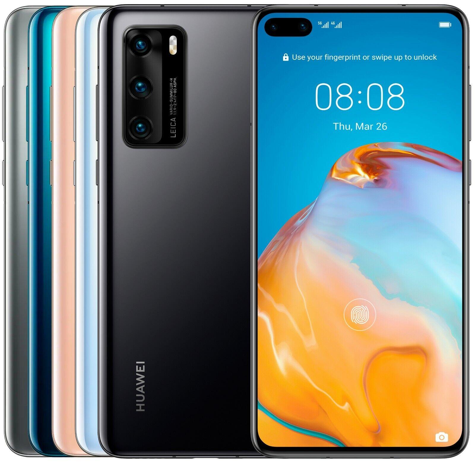 Huawei P40 128GB 8GB RAM ANA-NX9 Dual Sim (FACTORY UNLOCKED) 6.1