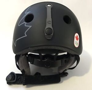Canadian Olympic GROM SKI SNOWBOARD SNOW ACTIVITIES HELMET
