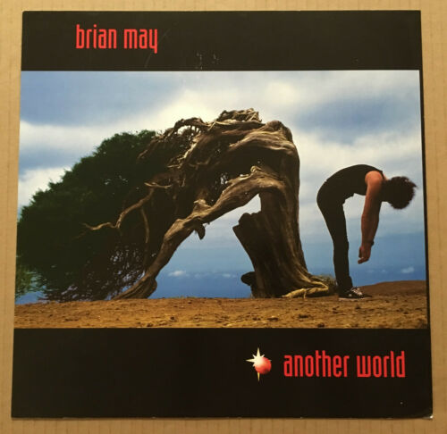 Queen BRIAN MAY Rare DOUBLE SIDED PROMO POSTER FLAT for Another CD USA 1998
