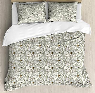 Birds Duvet Cover Set Twin Queen King Sizes with Pillow Sham