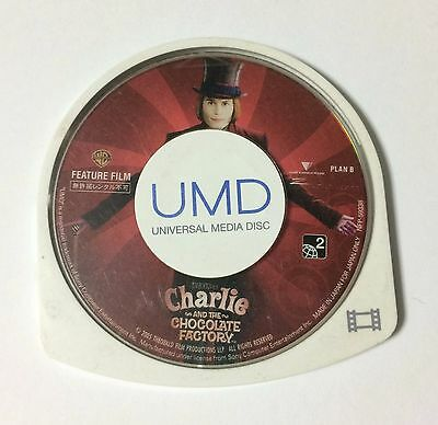 USED PSP Disc Only UMD Video Charlie and the Chocolate Factory JAPAN Japanese