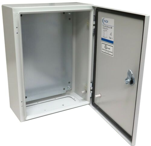 YuCo YC-16x12x6-UL Electrical Box IP66 Nema Type 4 Enclosure Gland (Screw) Plate