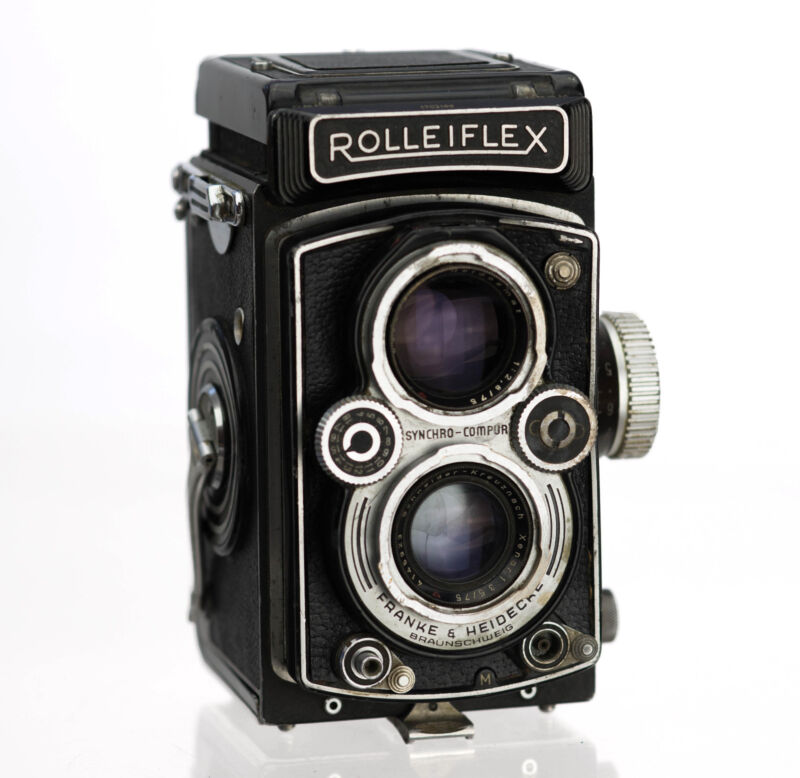 Rolleiflex 3.5B Replacement Cover - Laser Cut Genuine Leather