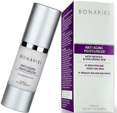 Best Daily Anti Aging Moisturizer for Men & Women to Boost Collagen,