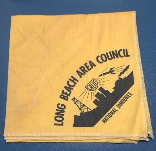 VTG LONG BEACH AREA COUNCIL Boy Scout National Jamboree Contingent NECKERCHIEF