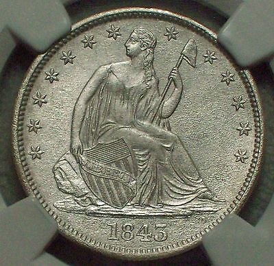 Click now to see the BUY IT NOW Price! 1843 O HALF DOLLAR NGC SHIPWRECK EFFECT   CHOICE C UNCIRCULATED   SS NEW YORK