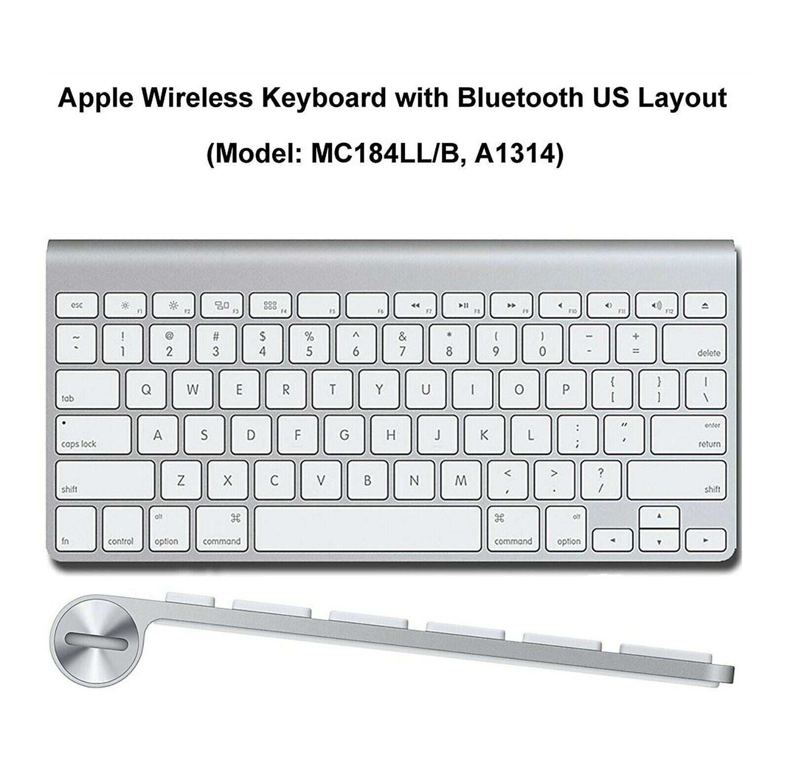 New Apple Wireless Bluetooth Keyboard Aluminum iMac Mac Mini