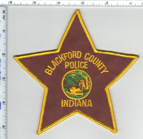 Blackford County Sheriff Dept. (Indiana)  Shoulder Patch - new from the 1980s