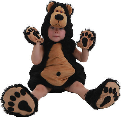 Grizzly Bruce The Bear Baby Paradise Toddler Costume  - Toddler Bear Costume
