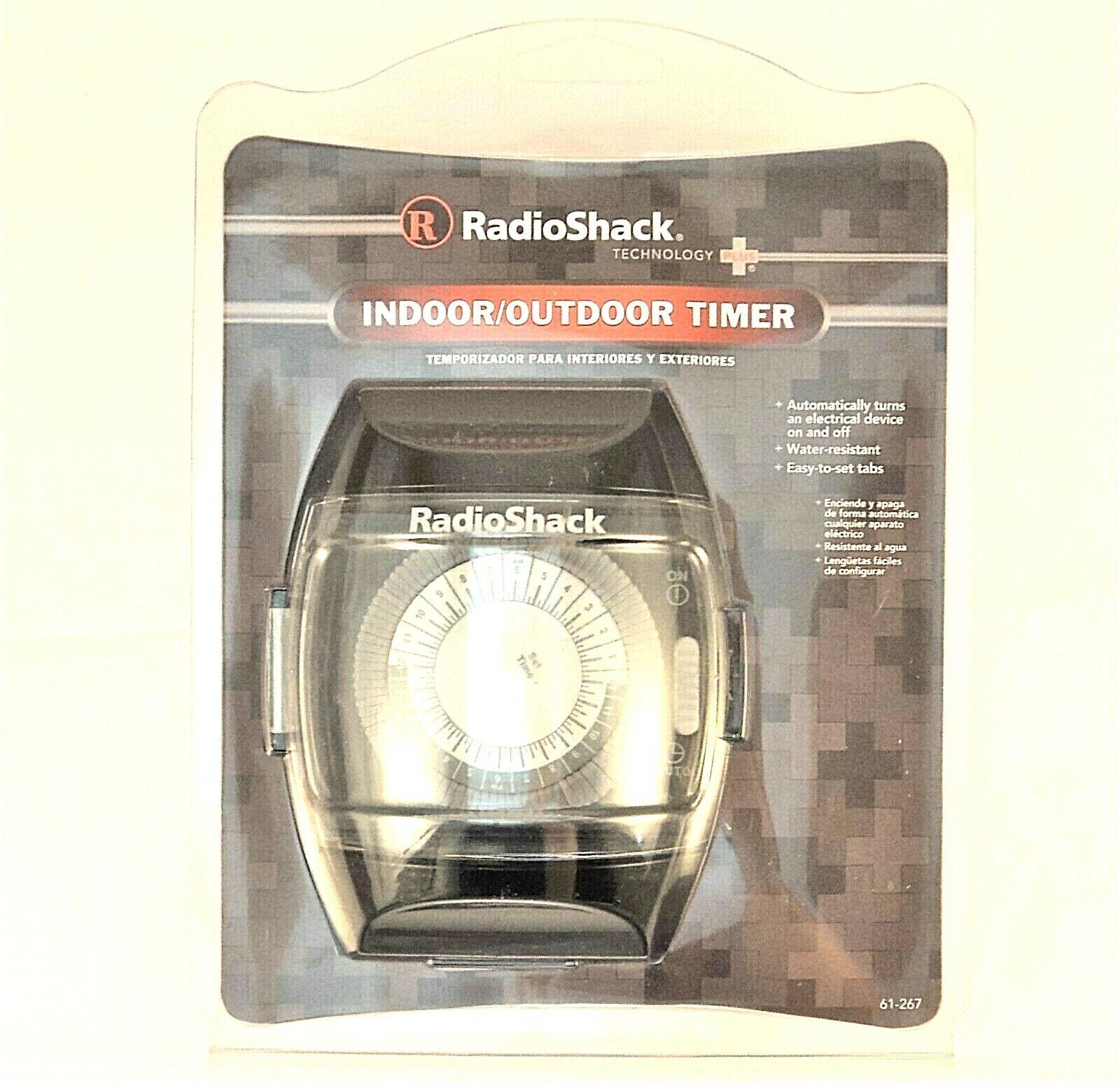 Radioshack 61267 Indoor Outdoor Timer