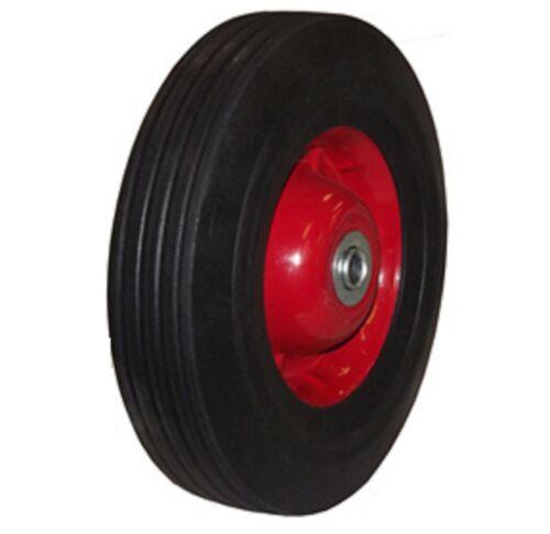 """10"""" inch Solid Rubber Dolly Wheels Tire Rim wheel Hard Heavy duty cart"""