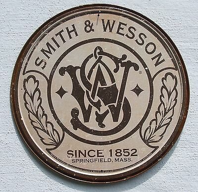 Smith & Wesson Revolver Logo Klassik USA Metall Schild
