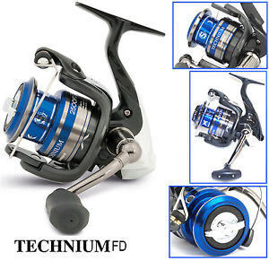 Shimano technium 2500 fd spinning reel frontdrag new model for Shimano fishing reels for sale