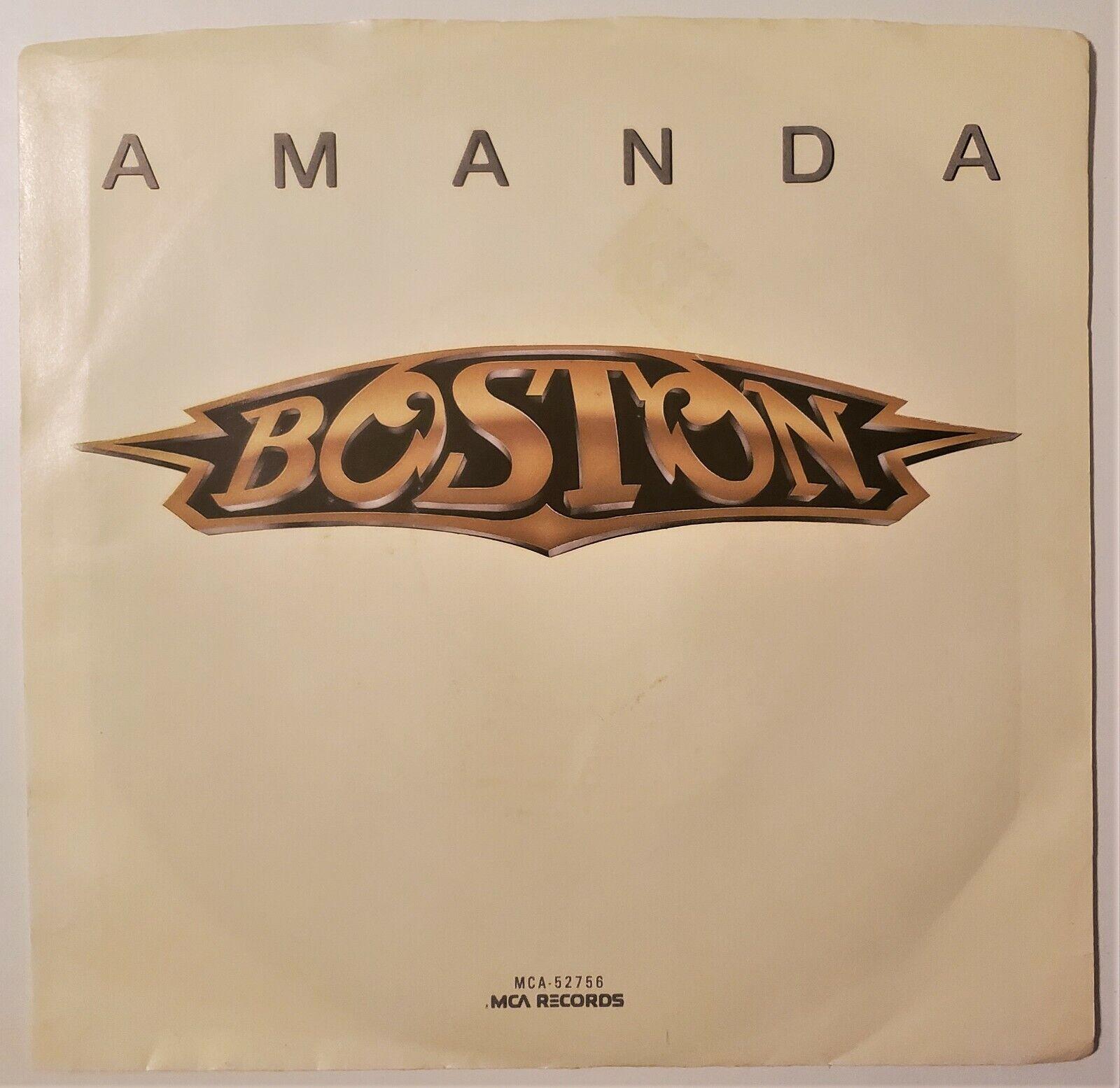 Boston Amanda/My Destination 45rpm W/PS NM - $3.00