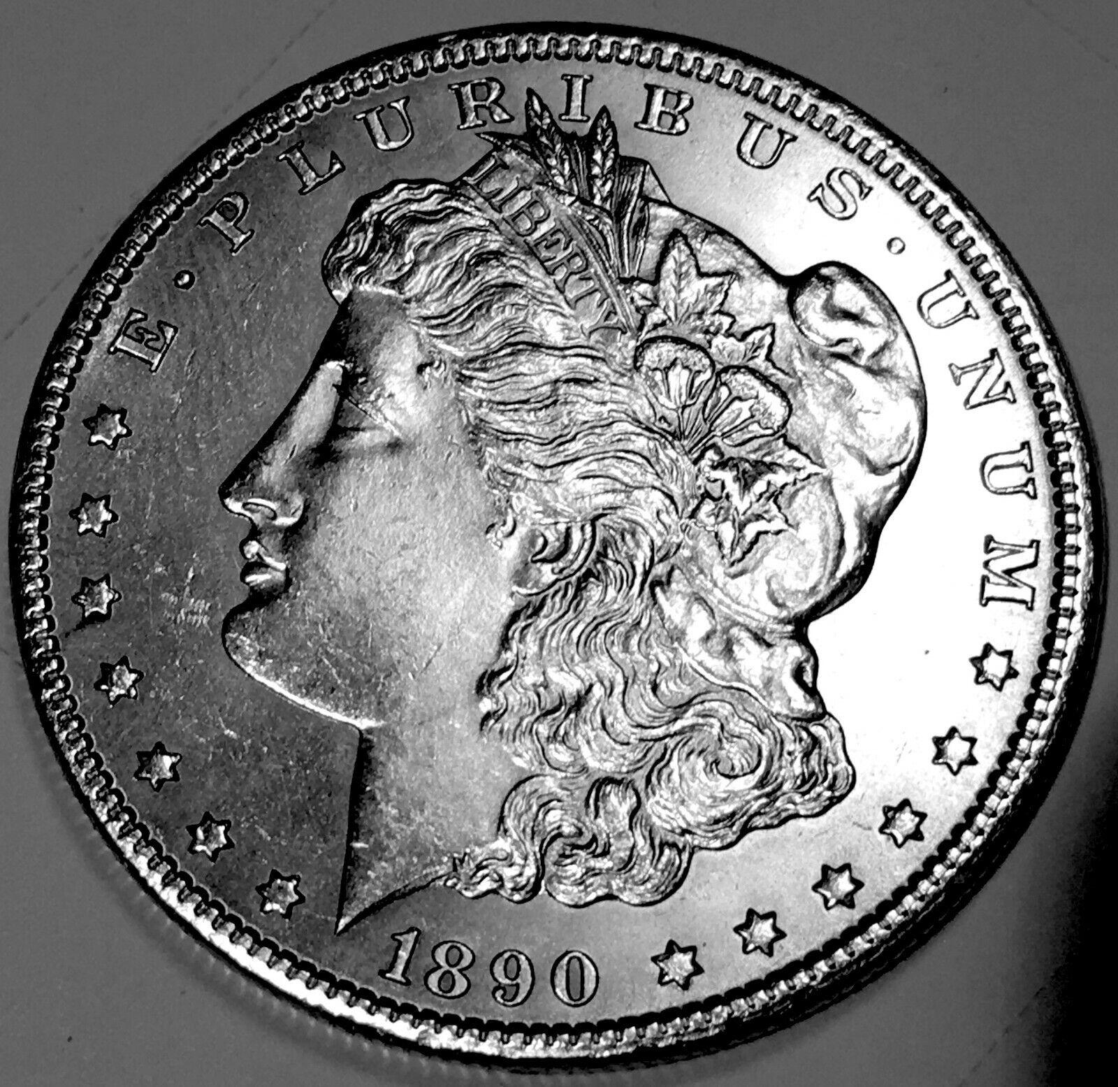 1890 CC Morgan Dollar GEM BU 1 - $825.00