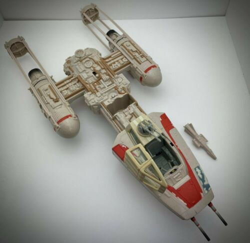 Star Wars The Vintage Collection ROTJ Y-Wing Fighter Toys R Us 2011