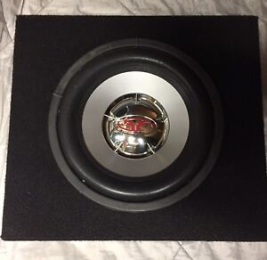 "Rockford Fosgate 10"" sub and box"