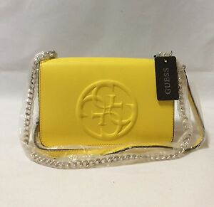 Guess Yellow Shoulder Crossbody Bag BRAND NEW AUTHENTIC RRP $139 Westmead Parramatta Area Preview