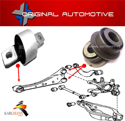 FITS LEXUS CT200H 2010> REAR TRAILING LATERAL CONTROL ARM SUSPENSION BUSH KIT
